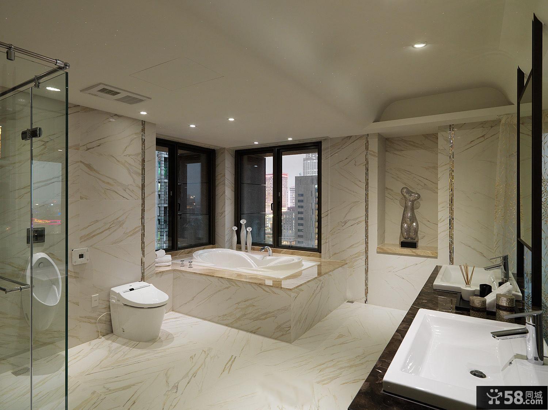 整体卫生间瓷砖装修设计