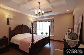 美式大卧室装修图片欣赏