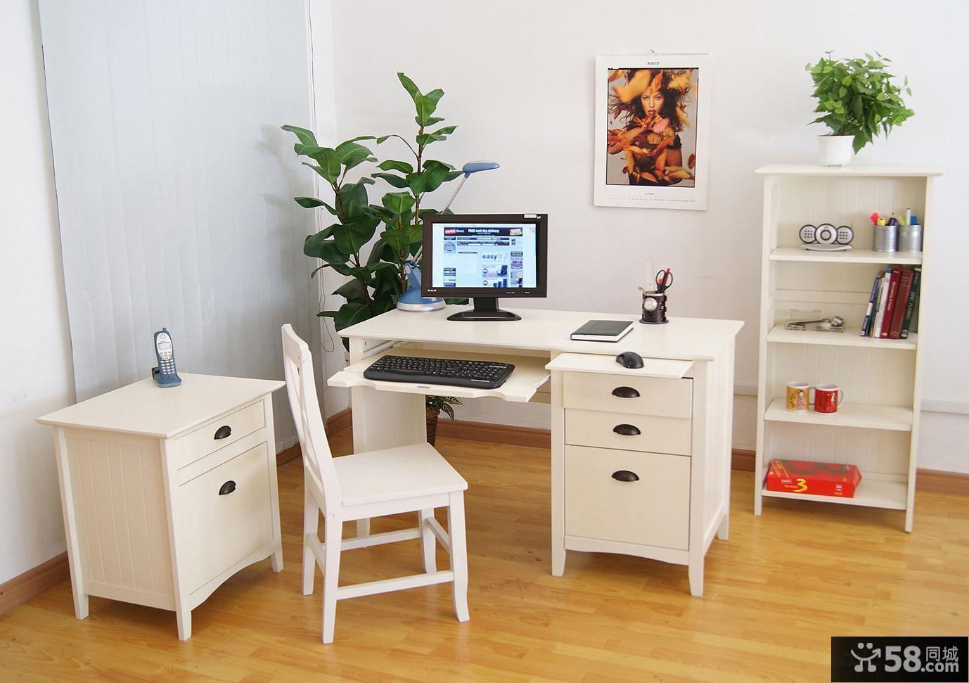 白色家具装修效果图大全2013图片