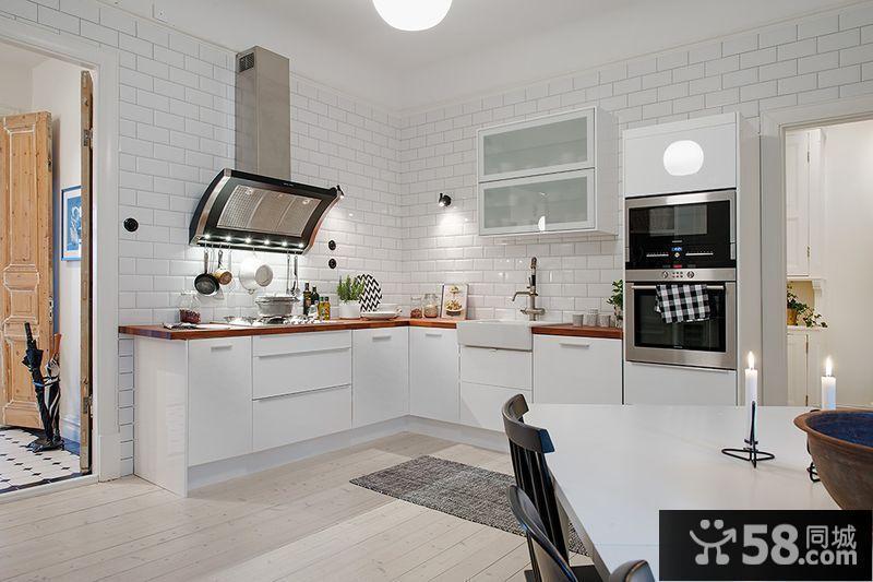 装修欧式厨房效果图