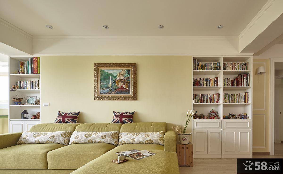 客厅装修电视背景墙图片