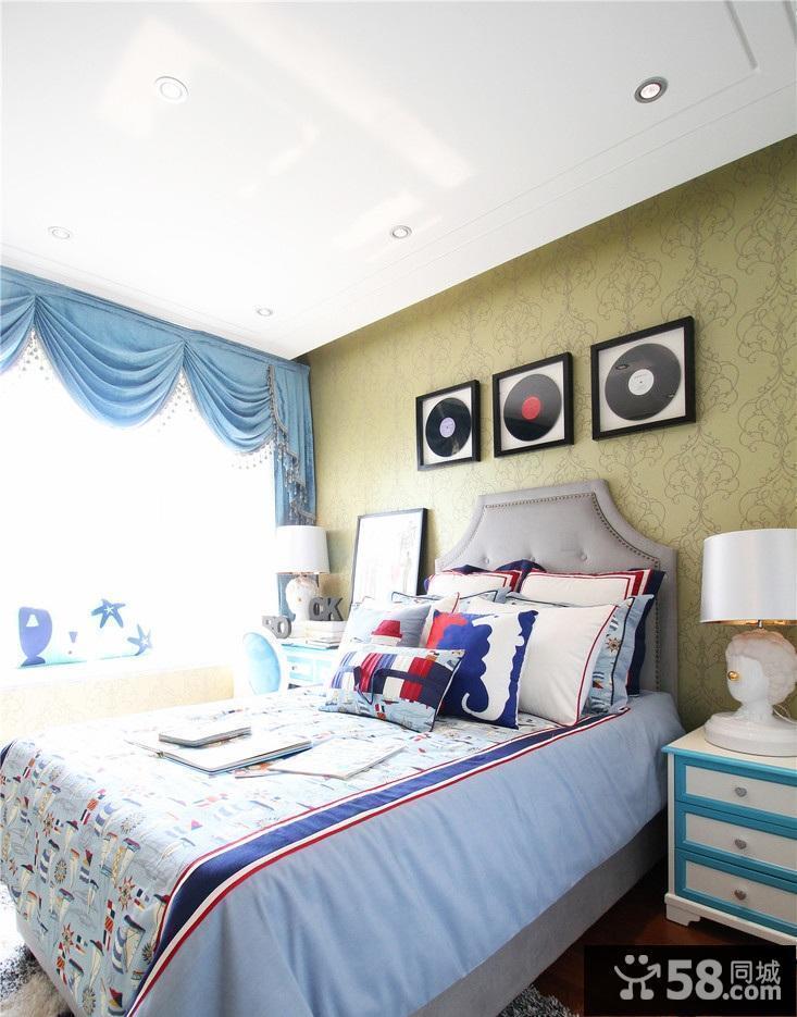 卧室墙纸装饰