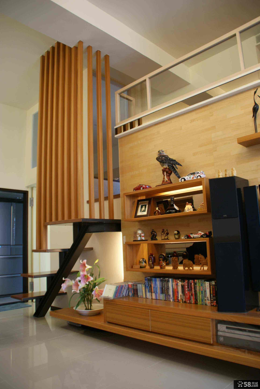 小客厅电视背景墙装修图片