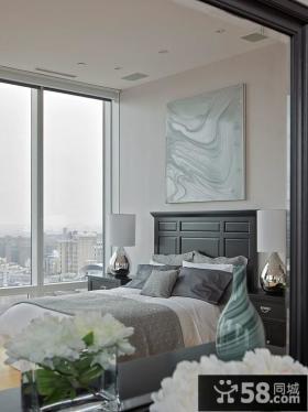 2014卧室装修效果图 简约风格小卧室装修效果图