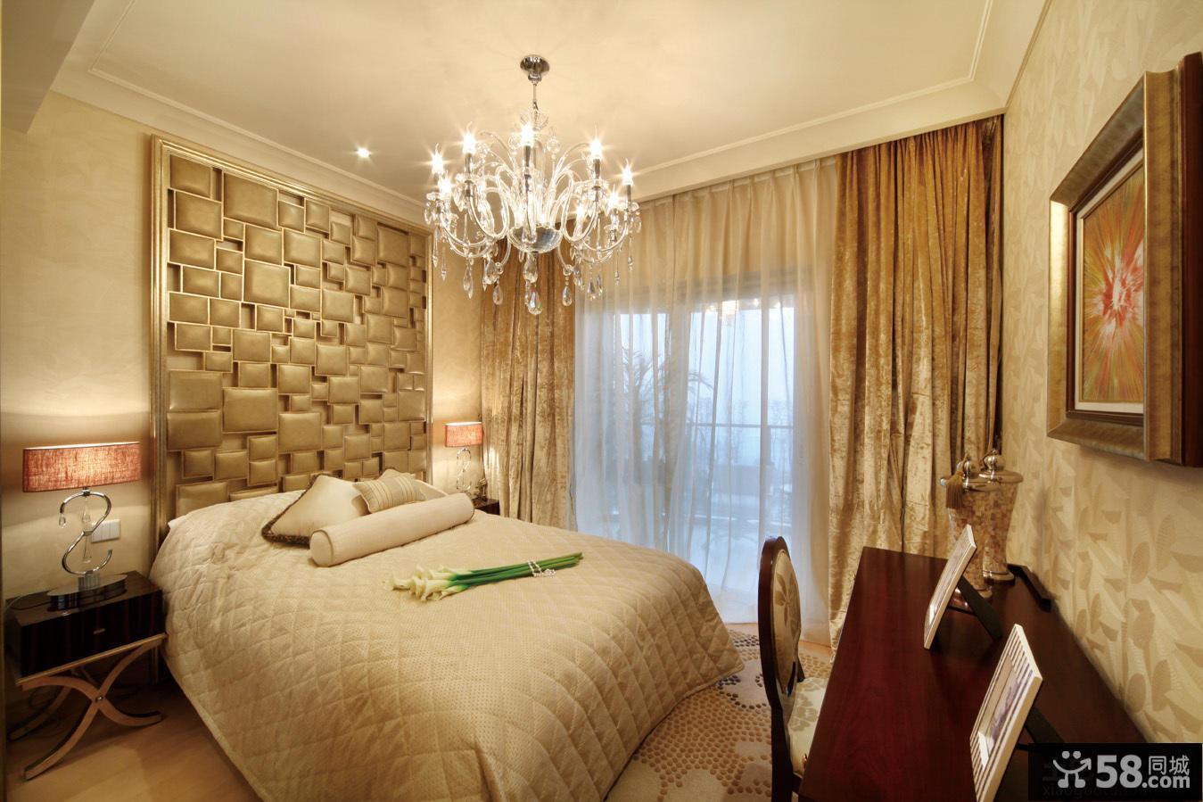 家装设计精装修卧室效果图