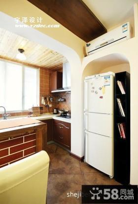 两室一厅家装小厨房效果图