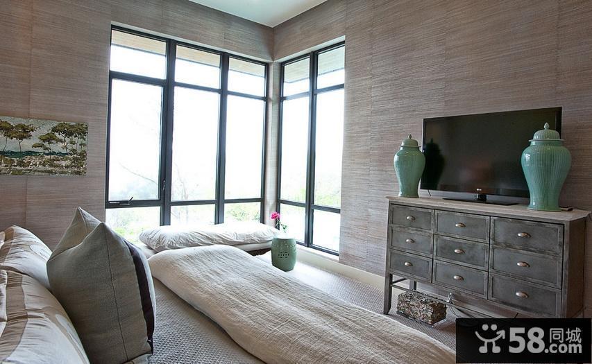 美式乡村卧室装修