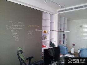 简约现代风格两室两厅装修效果图