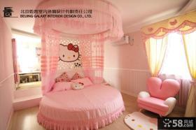 卧室圆床装修效果图大全