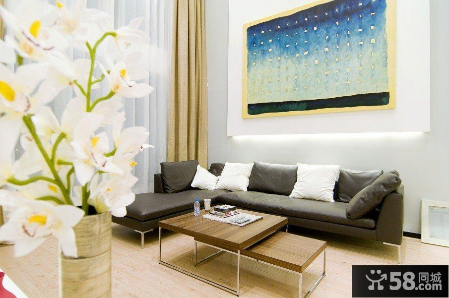 现代时尚复式家居装潢效果图