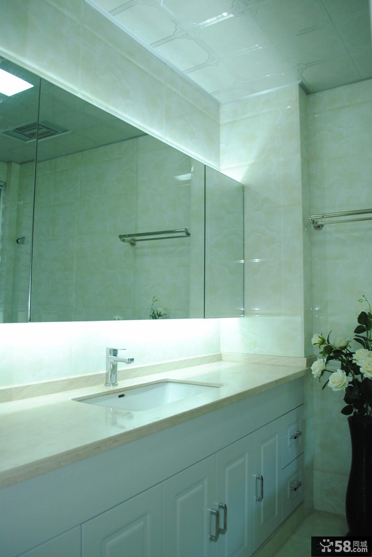 卫生间镜台设计