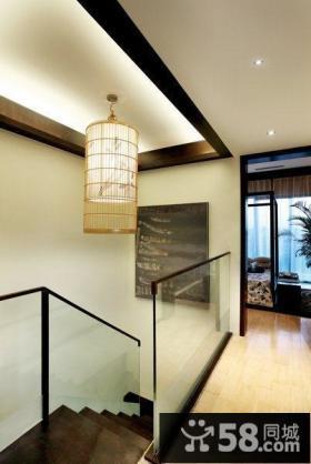 复式楼梯走廊吊顶装修效果图