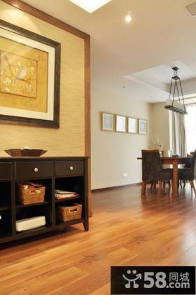 中式二居客厅装修设计
