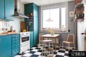 混搭风格设计室内厨房效果图大全