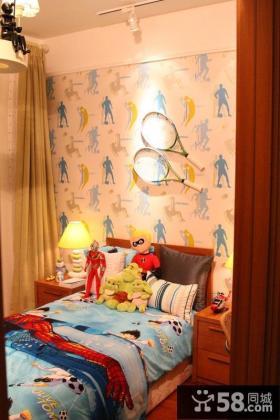 儿童房墙面壁纸