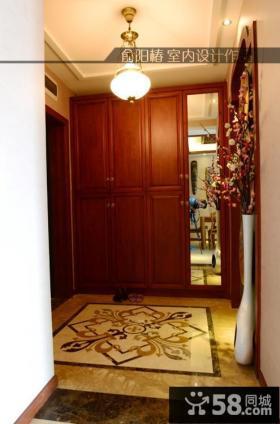 进门玄关柜效果图图片