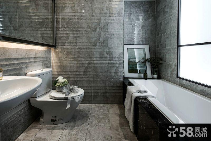 现代简约风格装修卫生间