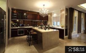 现代风格开放式厨房装修图片