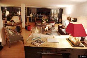 美式精装修设计客厅效果图欣赏大全