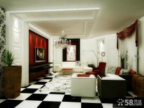客厅装修效果图欣赏 欧式现代家居客厅装修效果图