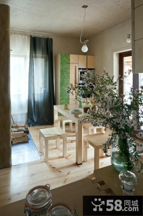 88平方二室小户型房屋装饰