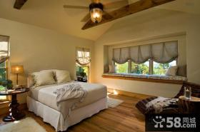 美式风情的卧室装修效果图大全2012图片