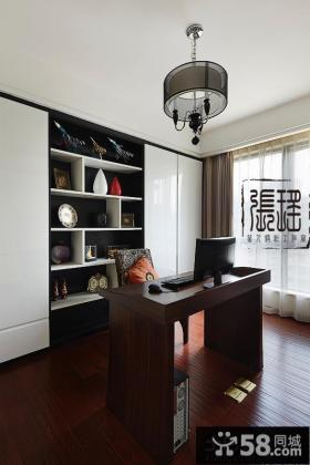 现代简约书房设计装修效果图欣赏