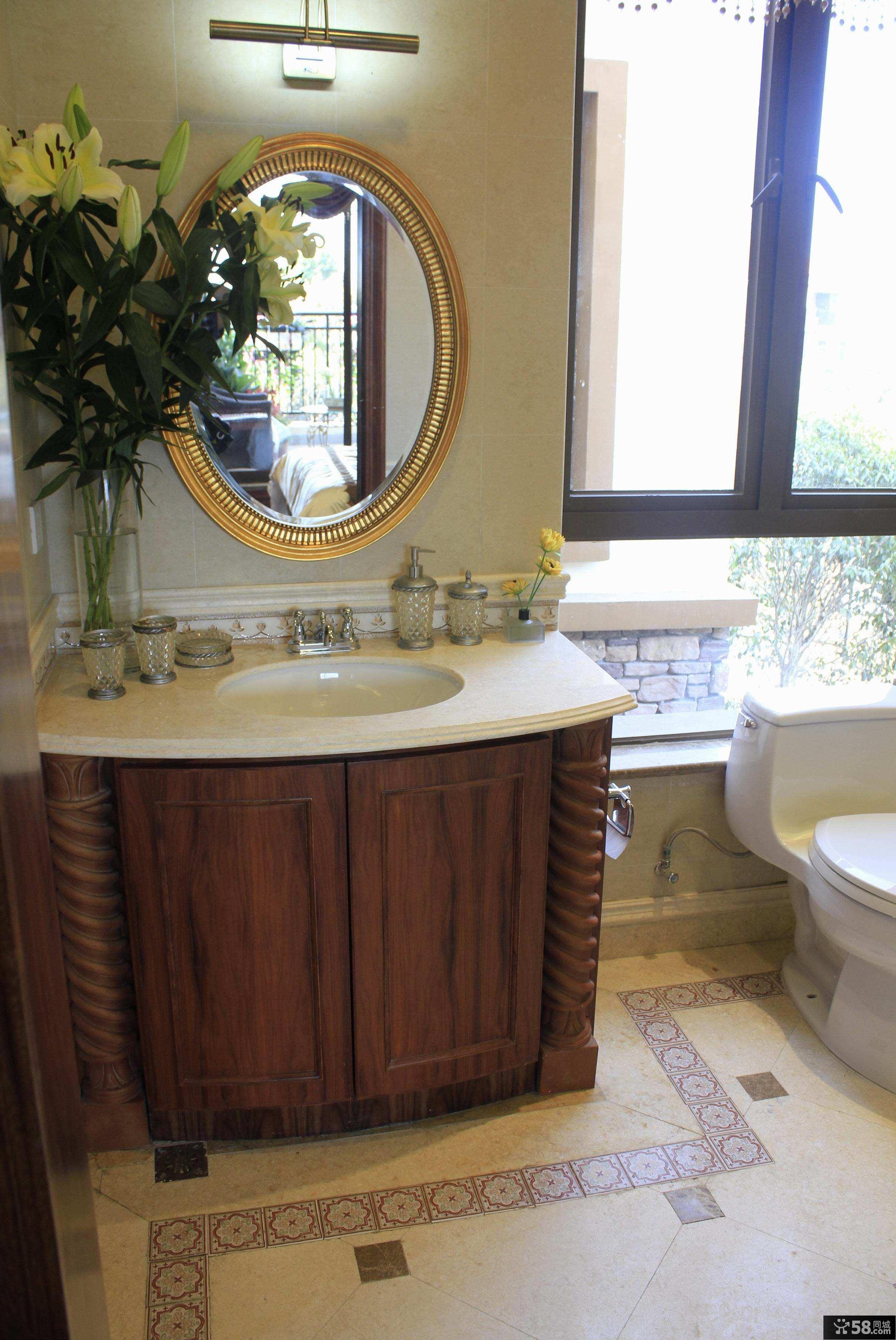美式家庭设计卫生间图片大全