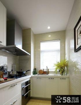 10平现代厨房装修效果图片大全