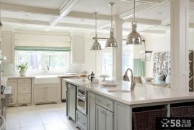 2013最新欧式厨房装修效果图
