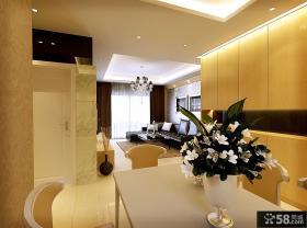 现代奢华的室内客厅装修效果图大全2014图片