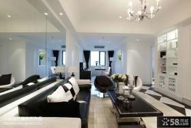 两室一厅客厅吊顶装修效果图欣赏