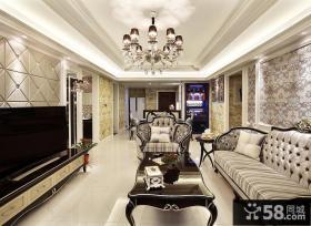 精致优雅欧式三居装潢大全
