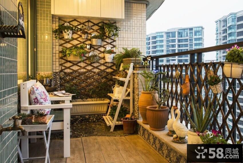 家居阳台装修效果图片