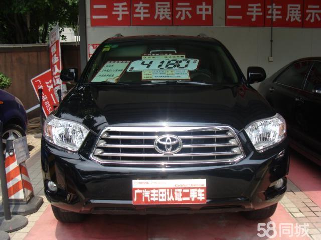 广州二手丰田汉兰达2009款 3.5l 四驱至尊版 41.8万元高清图片